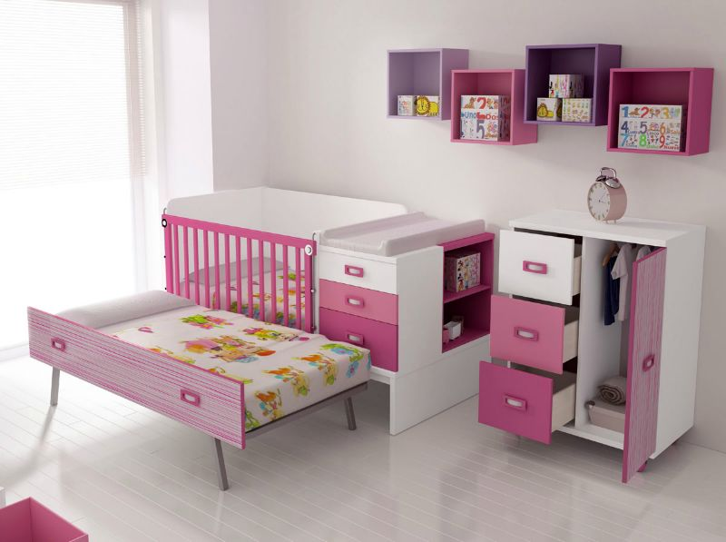 Mobiliario cunas convertibles muebles gon vall - Muebles convertibles ...